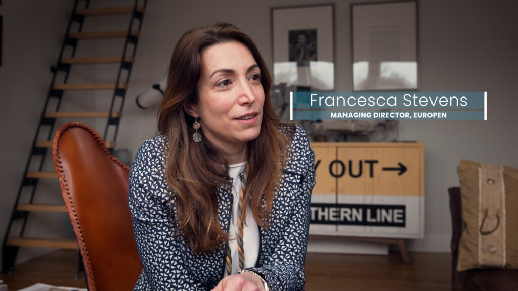 Managing Director Francesca Stevens about EUROPEN's new chapter