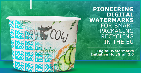 Pioneering digital watermarks for smart packaging to take recycling in the EU to new heights